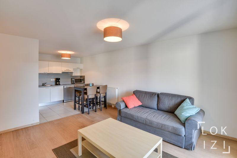 Location appartement meubl 2 pi ces 42m bordeaux par lokizi - Louer en meuble non professionnel ...