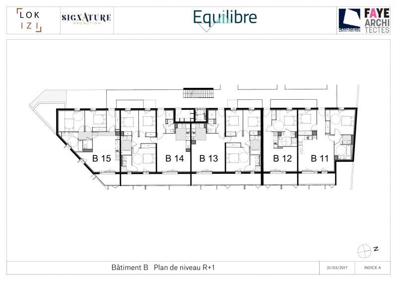 appartement neuf t4 de 85 1m r s equilibre b14 par lokizi. Black Bedroom Furniture Sets. Home Design Ideas