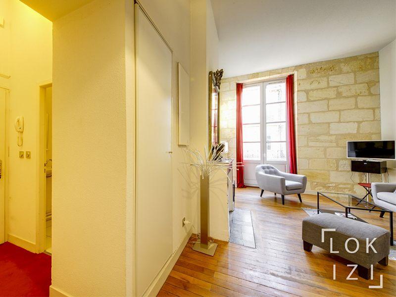 location appartement meubl 2 pi ces 50m bordeaux par lokizi. Black Bedroom Furniture Sets. Home Design Ideas