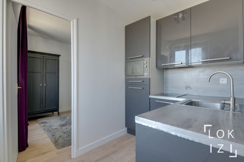 Location appartement meubl 1 chambre 37m paris 18 par lokizi - Fiscalite appartement meuble ...