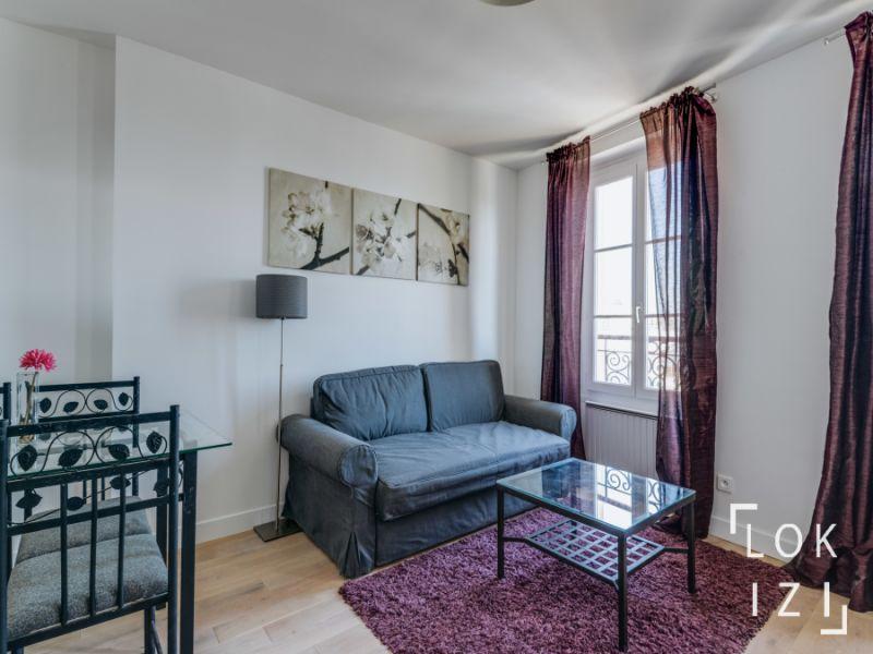 location appartement meubl 1 chambre 37m paris 18 par lokizi. Black Bedroom Furniture Sets. Home Design Ideas