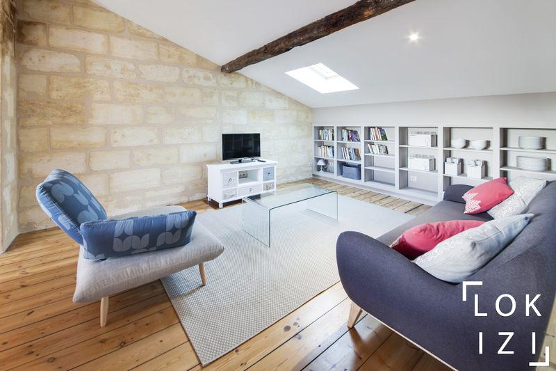 location appartement meubl 3 chambres 100m bordeaux par lokizi. Black Bedroom Furniture Sets. Home Design Ideas