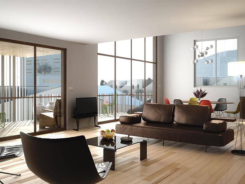 t5 neuf au bassin flots r sidence 39 astrolabe 39 par lokizi. Black Bedroom Furniture Sets. Home Design Ideas