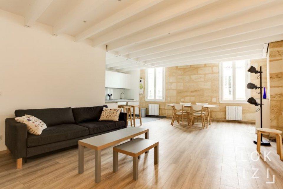 location appartement meubl 3 chambres 85m bordeaux par. Black Bedroom Furniture Sets. Home Design Ideas